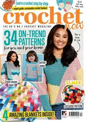 Crochet Now Magazine Magazine Cover