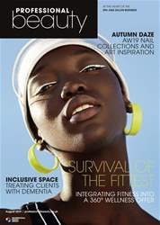 Professional Beauty Magazine Cover