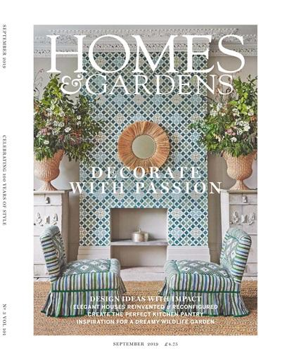 Homes Gardens Magazine September 2019 Subscriptions Pocketmags