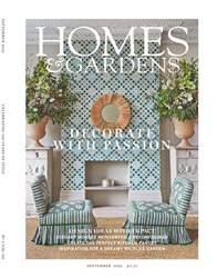 Homes & Gardens Magazine Cover