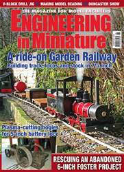 Engineering in Miniature Magazine Cover