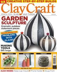 ClayCraft Magazine Cover