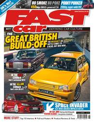 Fast Car Magazine Cover