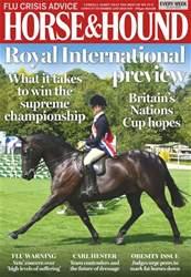 Horse & Hound Magazine Cover