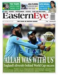 Eastern Eye Newspaper Magazine Cover