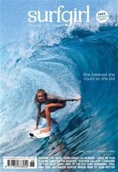 SurfGirl Magazine Magazine Cover