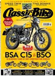 Classic Bike Magazine Cover