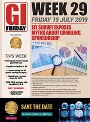 The Gambling Insider Friday Magazine Cover