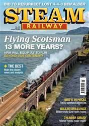 Steam Railway Magazine Cover