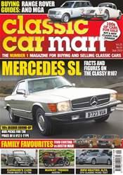 Classic Car Mart Magazine Cover