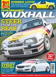 Performance Vauxhall Magazine Cover
