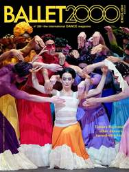 BALLET2000 English Edition Magazine Cover