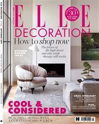 Elle Decoration Magazine Cover