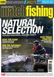 Match Fishing Magazine Cover