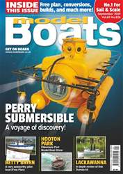 Model Boats Magazine Cover