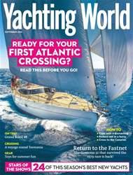 Yachting World Magazine Cover
