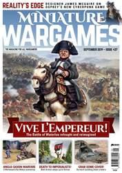 Miniature Wargames Magazine Cover