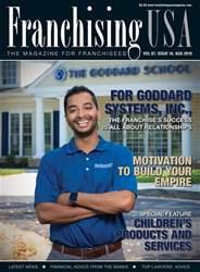 Franchising USA Magazine Cover