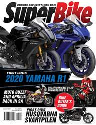 SuperBike South Africa Magazine Cover
