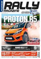 Pacenotes Rally magazine Magazine Cover