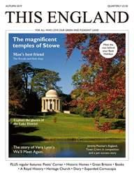 This England Magazine Cover