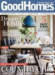 Good Homes Magazine Magazine Cover
