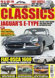 Classics Monthly Magazine Cover