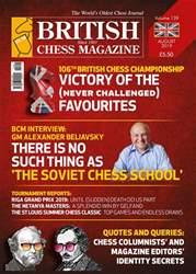 British Chess Magazine Magazine Cover