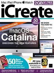 iCreate Magazine Cover