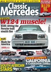 Mercedes Enthusiast Magazine Cover