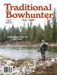 Traditional Bowhunter Magazine Magazine Cover