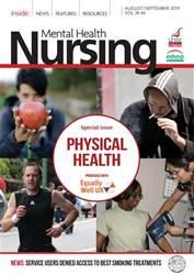 Mental Health Nursing Magazine Cover