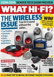 What HiFi Magazine Cover