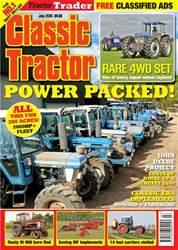Classic Tractor Magazine Cover