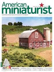 American Miniaturist Magazine Cover