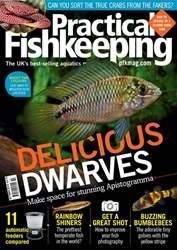 Practical Fishkeeping Magazine Cover