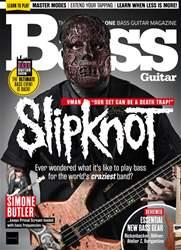Bass Guitar Magazine Cover