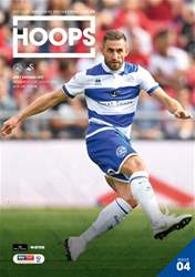 QPR Official Programmes Magazine Cover