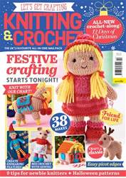 Let's Get Crafting Magazine Cover