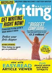 Writing Magazine Magazine Cover