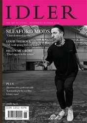 The Idler Magazine Magazine Cover