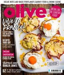 Olive Magazine Magazine Cover