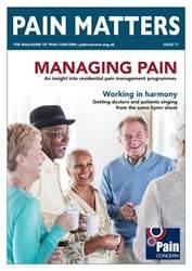 Pain Matters Magazine Cover
