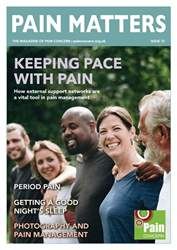 Pain Matters Magazine Cover