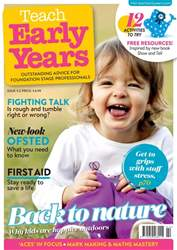 Teach Early Years Magazine Cover