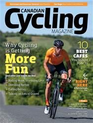 Canadian Cycling Magazine Magazine Cover