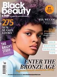 Black Beauty & Hair – the UK's No. 1 black magazine Magazine Cover
