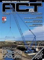 American Cranes & Transport Magazine Cover