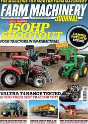 Farm Machinery Journal Magazine Cover