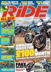 Ride Magazine Cover